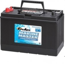Deka Marine Master Battery - DP31DT  - 12 Volt -  700CCA - DUAL Marine Starting and Cycling - Maintenance Free Battery (DP31DT)