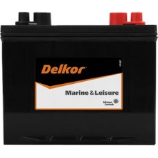 Delkor M24 Battery - 82Ah DUAL Purpose - 12 Volt - 520CCA - Marine Starting and Cycling - Maintenance Free Battery (M24)