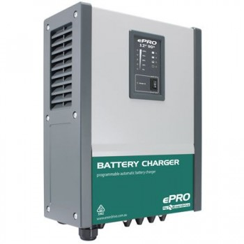 Enerdrive ePRO Battery Charger - 12 Volts - 90 Amps - 3 Battery Banks - High Output - Lithium Ready  (EPBC-1290)