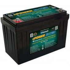 Lithium LiFePO4 ePOWER B-Tec Battery Pack 100Ah 12V - Complete System incl Battery Management System with Smartphone Monitoring (EPL-100BT-12V)