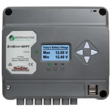 Morningstar EcoBoost MPPT 20 Amp Solar Controller with LCD Display - Suits 12 or 24V Systems - Essential Series (SR-EB-MPPT-20M)