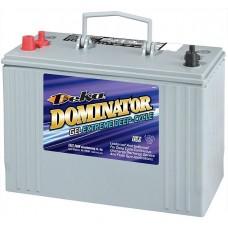 Deka Dominator 8G31DT Battery - 12 Volt - 98Ah - 550CCA - Gel Cell - Maintenance Free (8G31DT)