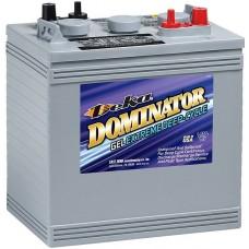 Deka Dominator 8GGC2 Battery - 6 Volt - 180Ah - 585CCA - Gel Cell - Maintenance Free (8GGC2)