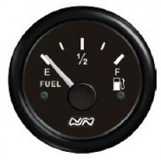 FUEL Tank Gauge Only - 12V or 24V Systems - Suits  150-400mm Sender Lengths - Nuova Rade (RWB8930)