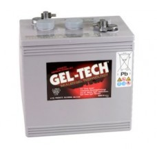 GelTech 8GGC2 Battery - 6 Volt - 180Ah - 585CCA - Gel Cell - Maintenance Free (8GGC2)