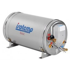 Isotherm Slim 15 (15L) Marine Hot Water Heater with Thermostatic Mixing Valve Fitted - 240VAC 750W and Heat Exchange (601531S000003)