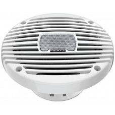 "HERTZ HEX 6.5 M-W Marine Coaxial Speakers 6.5"" (172mm) - WHITE Grill - 100W Peak Power - 50W Continuous - IP65 (1331104)"