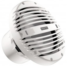 HERTZ HMS 10B Marine 10 inch (250mm) SUBWOOFER - WHITE Grill - IP65 Water Resistant - 500WP 4Ω - CM3013WL (1331810)