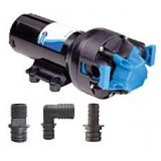 Jabsco  Par-Max PLUS 5.0 Freshwater Pressure Pump - 12 Volt - 19 LPM - 60 PSI - Includes Hose Fittings - Jabsco 82500-0092 (J20-180)