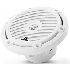 JL Audio M3-650X-C-Gw 6.5-inch (165 mm) Marine Coaxial Speakers, Gloss White Classic Grilles - 60W 4Ω - High Performance (15448-001)