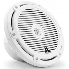 JL Audio M3-770X-X-Gw 7.7-inch (196 mm) Marine Coaxial Speakers, Gloss White Classic Grilles - 70W 4Ω - High Performance (15453-001)