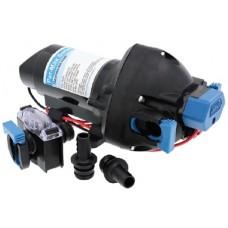 Jabsco Par-Max 3.0 - 12 Volt - 11LPM - 40PSI - Freshwater Pressure Pump - Incl 12mm Hose Fittings and Strainer - 31395-4012-3A (J20-202)