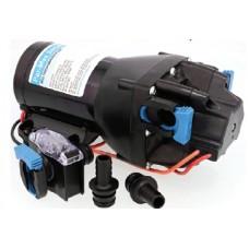 Jabsco Par-Max 3HD - 12 Volt - 11LPM - 60PSI - Freshwater Pressure Pump - Incl 12mm Hose Fittings and Strainer - Q301J-118S-3A (J20-208)