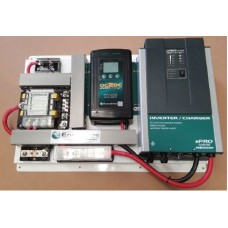 Enerdrive AGM/Lithium Battery Management System 1600 Combi incl. 40A DC2DC Charger, MPPT Solar Controller, 12V 60A Battery Charger, 1300W Inverter, Battery Monitor, Fuse Hub and Low Battery Cutout (K-AGM-BOARD-4)