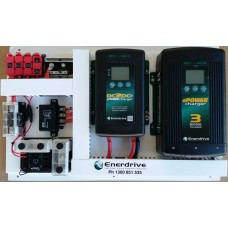 Enerdrive Motorhome Battery Management System - Suits AGM/Lithium - Incl. 40A DC2DC Charger, MPPT Solar Controller, 12V 40A Battery Charger, Battery Monitor, Fuses and Low Battery Protection (K-MH-SYS-1)