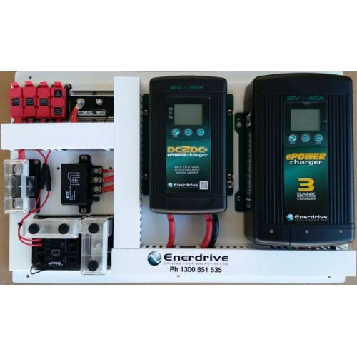 Enerdrive Rv80 Battery Management System - Suits Agm  Lithium