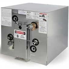 ** IN STOCK **Kuuma Force 10 Marine Hot Water Heater - 24 Litre - 240 Volt / Heat Exchange - Front Mounting Tabs - incl Magnesium Anode with Drain (40611+Anode)