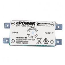 ePOWER 10A Low Battery Cutout - Protects Your Batteries - Low Voltage and High Voltage Protection with Alarm Output (EN-LBC1224-10)