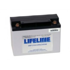 Lifeline GPL-1400 - 12 Volt - 55Ah - 550CCA - DUAL Marine Starting/Cycling AGM Battery (GPL-1400T)