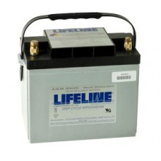 Lifeline GPL-24T - 12 Volt - 80Ah - 550CCA - DUAL Marine Starting/Cycling AGM Battery (GPL-24T)