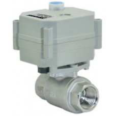 Motorised Ball Valve - 316 Stainless Steel - 9-35 Volt - 1/2 Inch BSP Female - Change Tanks at the Push of a Button (MV12)