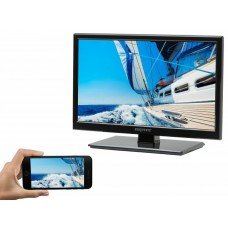 """Majestic 19"""" 12 Volt LED Ultra Slim TV - USB, DVD & MMMI -Low Power Draws only 1.3A@12Volt - Android & IOS Compatible with HDMI Phone & Tablet Interface (L195DA)"""