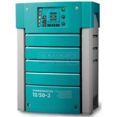Mastervolt ChargeMaster Battery Charger - 12 Volt 50Amp - 3 Output - 230Volt AC Input (110308)