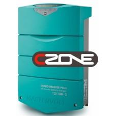 Mastervolt ChargeMaster PLUS 12/100-3 CZone Battery Charger - 12 Volt 100 Amp - 3 Output - 120/230Volt AC Input - 44311005 (110339)