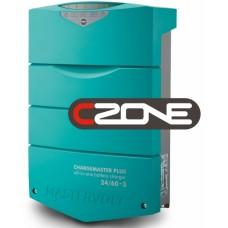 Mastervolt ChargeMaster PLUS 24/60-3 CZone Battery Charger - 24 Volt 60Amp - 3 Output - 120/230Volt AC Input - 44320605 (110341)