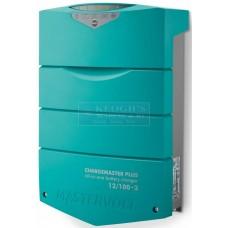 Mastervolt ChargeMaster PLUS Battery Charger - 12 Volt 100Amp - 3 Output - 230Volt AC Input (110334)
