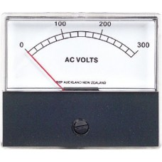 BEP Marinco AC Analog Metre Only - 0-300 VAC - Replacement Metre Only to Suit Contour Panels (113434 - SUR NO300ACV)