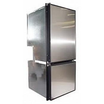 Stainless Steel  Fridge Door Face Panels - Suits Nova Kool Two Door Fridges - Change the Colour of Your Fridge Door (NKSS2)