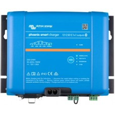 Victron Phoenix Smart IP43 Charger - 12V - 50A - 1+1 Output - Bluetooth Smart Enabled (PSC125051085)