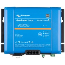Victron Phoenix Smart IP43 Charger - 12V - 50A - 3 Output - Bluetooth Smart Enabled (PSC125053085)