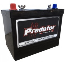 Predator SMF Battery - MFM27-XHD - 12 Volt - 850CCA - 100Ah - Marine Starting/Cycling - Maintenance Free - Silver-Calcium (MFM27-XHD)