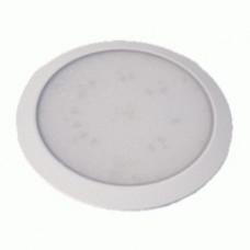 OceanLumi LED Interior/Exterior Light - 12V - 125mm - White Rim -  Non Switched (41-125W-36)