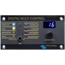 Victron Digital Multi Control 200/200A - Remote Control Panel to suit Multi and Quattro Inverter Charger Combi (REC020005010)