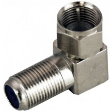 F-Type Right Angled Joiner - Female to Male - Suit Coaxial Cable - 75 Ohm (BC3720HR)