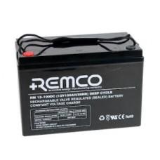 Remco RM12-100DC - 12 Volt - 100Ah - Marine Deep Cycle AGM Battery (RM12-100DC)