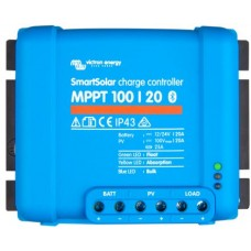 SmartSolar MPPT 100/20 Solar Charge Controller - Solar Panel Regulator with Bluetooth Control Built-In  – Suits 12 or 24V Systems (SCC110020060R)