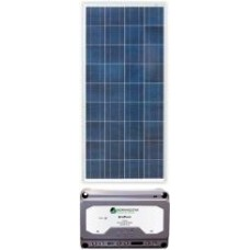 Solar 55W Solar Package incl. PWM Solar Controller - Charges Max 3A/hr @ 12V - Suits 12V Systems Only (ENE55WP)