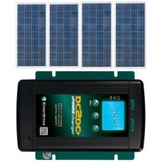Solar 600-150Plus Solar Package incl. MPPT Solar Controller and DC to DC Charger - Charges Max 35A/hr @ 12V - Suits 12V Systems (ENE 600-150Plus)