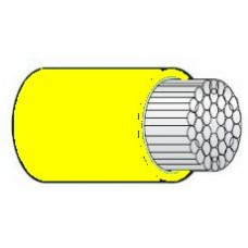 Marine Cable - Tinned - YELLOW - 16mm² - Single Core (SUR TRI T16Y)