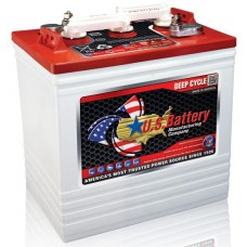 US Battery - US2200  - 6 Volt -  232Ah - Deep Cycle Flooded Lead Acid Battery - Commercial Quality Heavy Duty Cycling Battery (US2200XCUT)