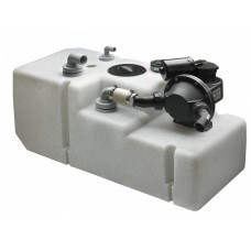 Vetus 24V Waste Water System Type WWS - 42 Litres - 24 Volt Pump and Sensor - 630mm L x 350mm W x 412mm H - Seamless Construction (WWS4224B)