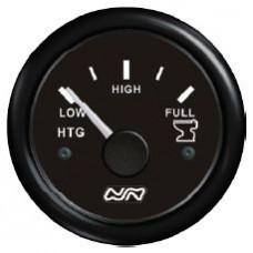 WASTE Tank Gauge Only - 12V or 24V Systems - Suits 150-480mm Sender Lengths - Nuova Rade (RWB8934)