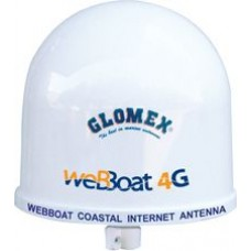 WebBoat 4G PLUS - 3G/4G/WiFi Coastal Internet Antenna System - Specifically designed for use in Boats up to 20 Miles from Data Source (1290105)