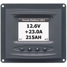 BEP Marinco DC Systems Monitor (Panel Mount) - Suits 8-32V - Incl Shunt - 113408 (SUR 80-600-0027)