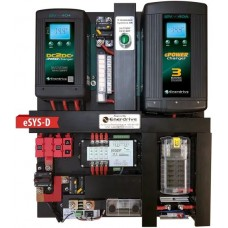 Enerdrive eSYSTEM-D DIY Installation KIT - Incl. 40A AC Charger, 40A DC Charger, MPPT Solar Charger, Simarine LCD Battery Monitor with Fuse Block (eSYS-D)