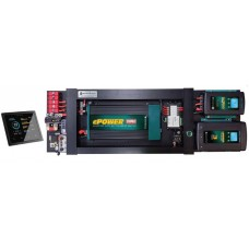 Enerdrive eSYSTEM-F DIY Installation KIT - Incl. 40A AC Charger, 40A DC Charger, MPPT Solar Charger, 2000W Inverter and Simarine LCD Monitor (eSYS-F)